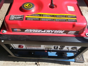 New portable gas generator