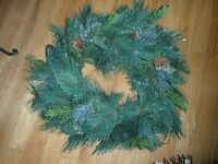 ARTIFICIAL XMAS WREATH