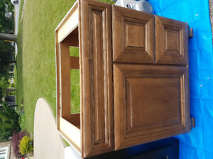 Solid Wood Bathroom Cabinet