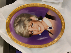 Lady Diana Official Limited Edition Plate