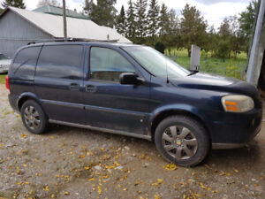 2006 Chevrolet Uplander with 2 sets of good tires