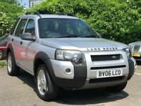2006 Land Rover Freelander 2.0 TD4 Freestyle 5dr Diesel silver Automatic