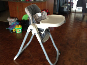 Graco Collapsible High Chair