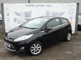 2010 FORD FIESTA 1.2 ZETEC 3 DOOR FULL SERVICE HISTORY USB AND AUX CONNECTIONS H