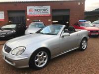 2002 Mercedes-Benz SLK 230 Kompressor 2.3 auto SLK230 Silver, **ANY PX WELCOME**