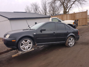 Parting out 2002 VW jetta