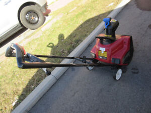New, snowblower