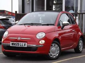 2009 Fiat 500 1.2 Pop 2dr 2 door Convertible