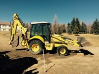 2010 Rubber Tired Back Hoe