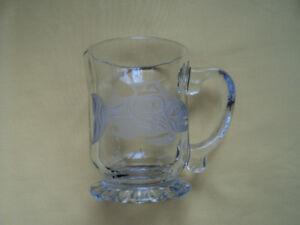 BEAUTIFUL NEW GLASS MUG