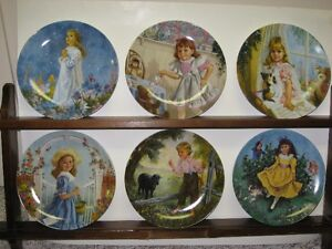 Collector plates - Treasured Songs of Childhood series