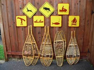 Snowshoes and Signs