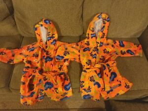 Brand New with Tags Housecoat/Robe for Kids - Size 3/4 - 2 Avail