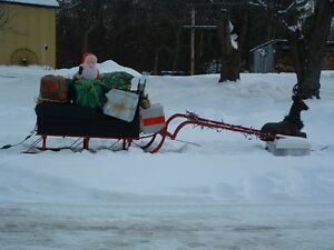 Horse Sleigh Cutter Cornwall Ontario image 1