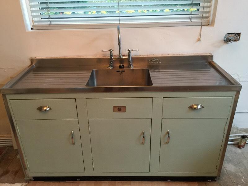 "Original Vintage Millersdale Sink Unit from ""Paul"