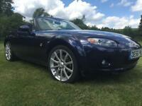 2007 MY 56 Mazda MX-5 Sport 2.0i 1 OWNER FMDSH METAL TOP FULL LEATHER WIDE BODY