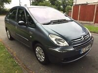 CITROEN XSARA PICASSO VTX LONG MOT IMMACULATE CONDITION THROUGHOUT