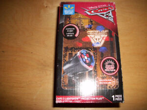 Brand New CARS Projection Light & Collectible Bottle Openers