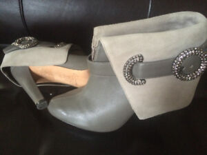 Designer ankle boots 100% leather
