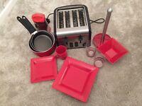 Red kitchen essentials
