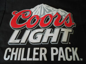 COORS LIGHT CHILLER PACK, KNAPSACK BAG, HOLDS 24 CANS