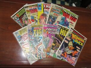 Vintage Marvel Super Hero Comic Book Collection Lot