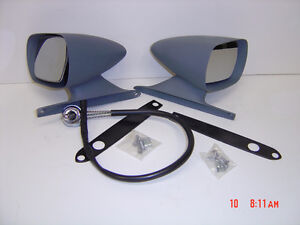 1969-1970 Ford Mustang LH Remote Racing Mirrors - 2 Available