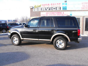 1999 EXPEDITION EDDIE BAUER  165 KMS  7 PASS  LEATHER  LOADED