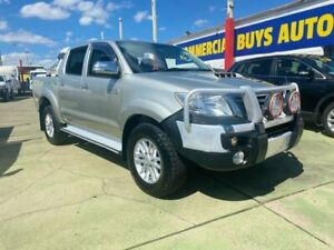 2014 Toyota Hilux KUN26R MY12 SR5 (4x4) Champagne 5 Speed Manual Dual Cab Pick-up Clyde Parramatta Area Preview