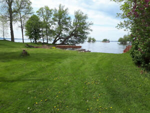 Waterfront Lot and Docking
