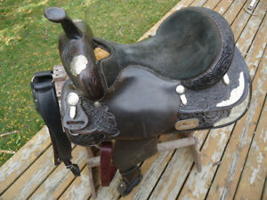 Billy Cook Western show saddle #605