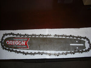 Vintage Chainsaw Bar and Chain
