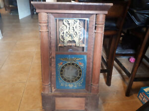 Rare Antique F.C Andrews 1850's Wall/Mantle Clock