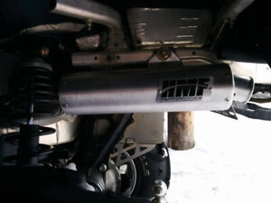Can am Outlander performance exhaust
