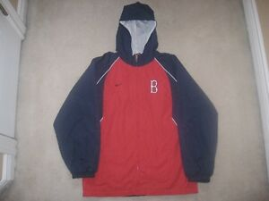 Boston Red Sox Nike Spring/Summer Hooded Jacket (New!)