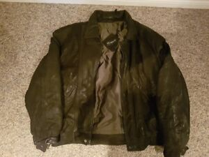 Holt Renfrew leather coat