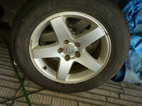 """Dodge 17"""" Tires and Rims"""
