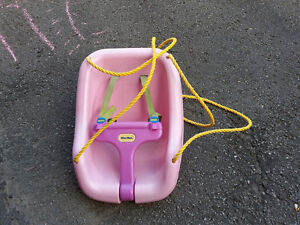 Outdoor swing for infant/toddler