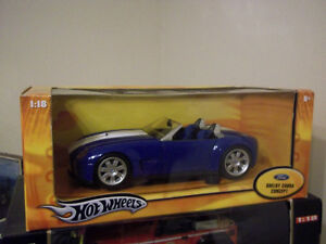 HOTWHEELS FORD SHELBY CONCEPT 1:18 SCALE DIECAST