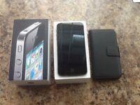Apple i phone 4 16gb.in black.