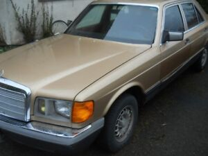 1981 Mercedes-Benz 300-Series Brown Sedan