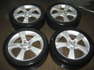 4 mags Mazda 3 GT 17 pouces