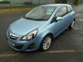 VAUXHALL CORSA 1.4 SE 3 DOOR MANUAL PETROL ALLOYS