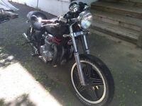 SOLD. SOLD REDUCE Cafe Racer $900 or trade for outboard motor