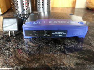 LINKSYS ROUTER/SWITCH  MODEL #BEFSR41  ROUTER/SWITCH