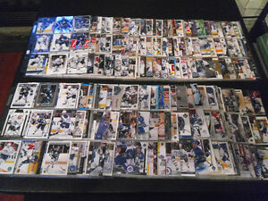 TORONTO MAPLE LEAFS 1040 Different Hockey Cards In Sheets Binder