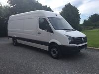 2012 vw crafter 136bhp lwb (same as sprinter)