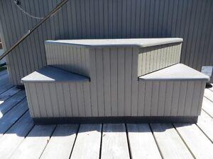 BeachComber Hot Tub Steps