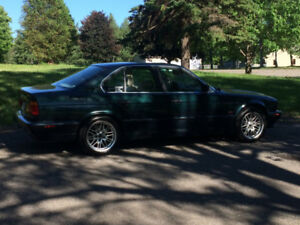 1995 BMW 540i Oxford Green M Mags 17""