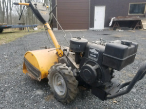 Roto tiller good strong chain drive